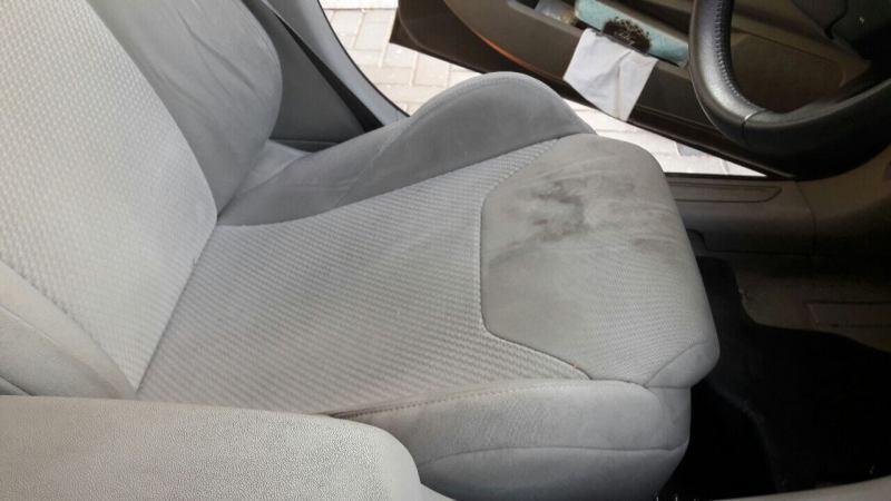 ניקוי מושבי רכב