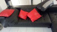 ניקוי ספת עור שחורה בחולון - אש בניקיון