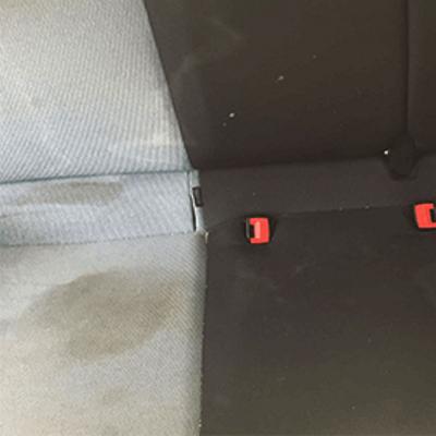 ניקוי יסודי למושבי הרכב