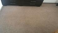 שטיח קיר אחרי ניקוי