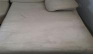 שזלונג לבן לפני לכלוך