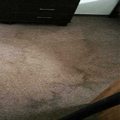 שטיח קיר לפני ניקוי